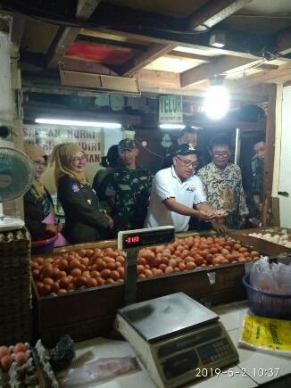 Jelang Bulan Suci Ramadhan, Pemkot Depok Sidak Pasar Tradisional