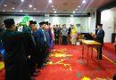 11 Kepala Sekretariat Panwas Kecamatan Depok dilantik