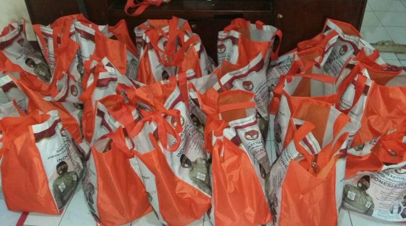 Sekber Wartawan Kota Depok Menerima 50 Paket Sembako dari Yayasan JCUIM