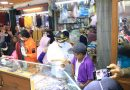 Hardiono didampingi Kepala Disdagin Depok, Zamrowi dan Kabag Ekonomi Depok, Suryono Melakukan Sidak ke Pasar Agung