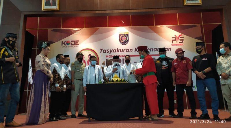 Koalisi Ormas Depok Mengadakan Tasyakuran Kemenangan Idris-Imam