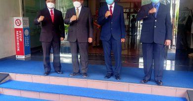 Walikota Depok Melantik Supian Suri Sebagai Sekretaris Daerah