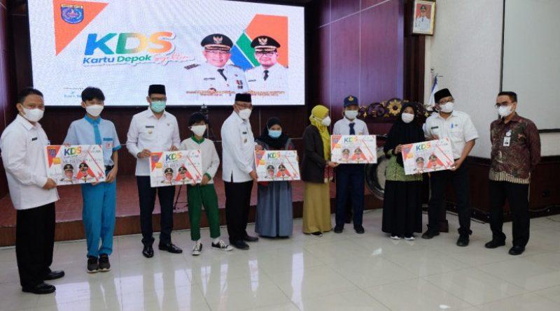 Kartu Depok Sejahtera (KDS) Diluncurkan Realisasikan Janji Kampanye