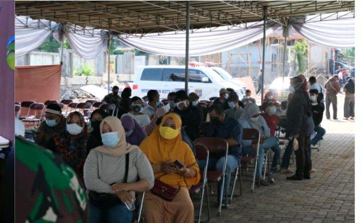 PDAM Asasta Kota Depok Menggelar Vaksinasi ke-2